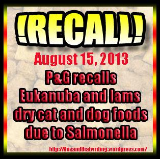 Petfood Recall Alert
